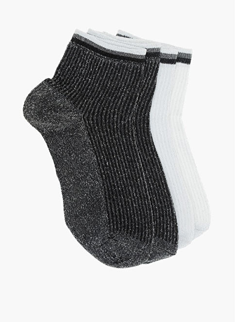 Divarese 2'li Çorap Gümüş